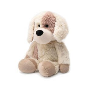 Cozy Plush Puppy Microwaveable Soft Toy